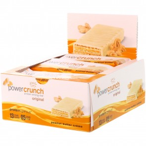 Power Crunch Original Peanut Butter Crème 12 Protein Bars