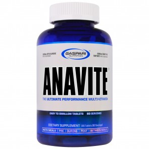 Anavite 180 Tablets by Gaspari Nutrition