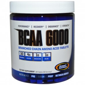 Gaspari Nutrition BCAA 6000 180 Tablets