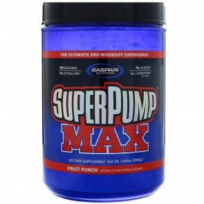 Gaspari Nutrition Superpump Max Fruit Punch 1.41 lbs