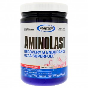 Gaspari Nutrition Aminolast Strawberry Kiwi 30 Servings
