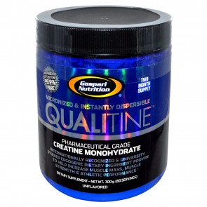 Gaspari Nutrition Qualitine Creatine Monohydrate Unflavored 60 Servings