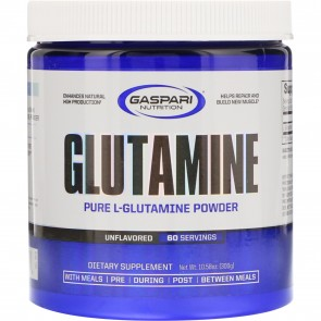 Gaspari Nutrition Glutamine Unflavored 300 Grams 60 Servings