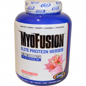 Gaspari Nutrition MyoFusion Elite Strawberries & Cream 4 lbs