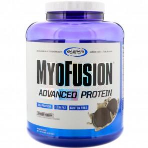 Gaspari Nutrition Myofusion Advanced Protein Cookies & Cream 4 lbs