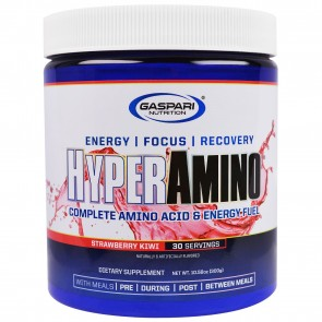 Gaspari Nutrition HyperAmino Strawberry Kiwi 30 Servings