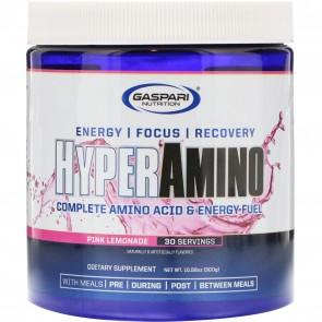 Gaspari Nutrition HyperAmino Pink Lemonade 30 Servings