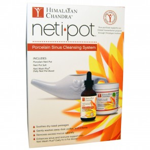Himalayan Institute, Neti Pot Sinus Cleansing System Starter Kit