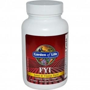Garden of Life FYI Joint and Tissue Food 90 Caplets