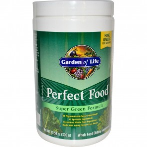 Garden of Life Perfect Food Super Green Formula Powder 10.58 oz.
