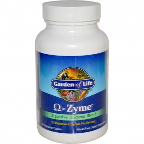 Garden of Life Omega Zyme 90 Capsules