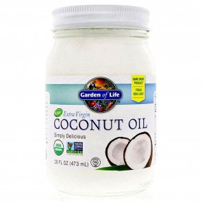 Coconut Oil 16oz | Coconut Oil 16oz by Garden of Life | Natural