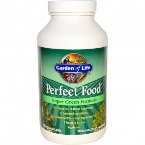 Garden of Life Perfect Food Super Green Formula 300 Vegetarian Caplets
