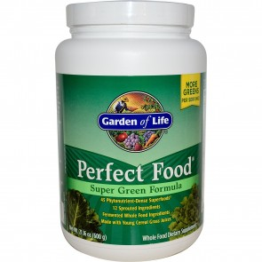 Garden of Life Perfect Food Super Green Formula Powder 21.16 oz