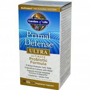 Garden of Life Primal Defense Ultra Probiotic Formula 90 Vegan Capsules