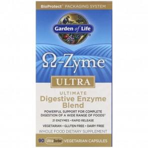 Garden of Life Omega Zyme Ultra 90 Capsules
