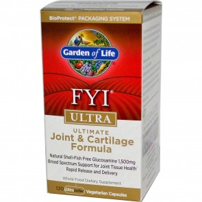 Garden of Life FYI Joint and Cartilage Formula 120 capsules