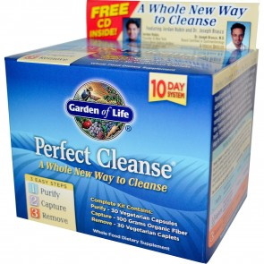 Garden of Life Perfect Cleanse 3 Steps