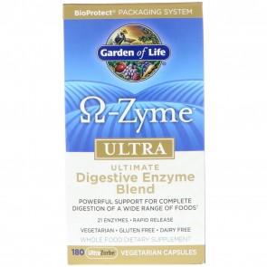 Garden of Life Omega Zyme Ultra 180 Capsules
