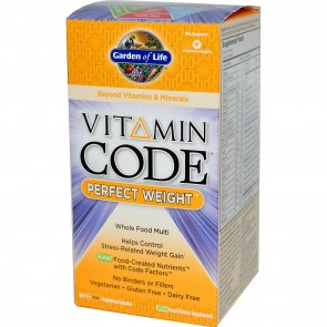 Garden of Life Vitamin Code Perfect Weight Whole Food Multivitamin 120 Capsules