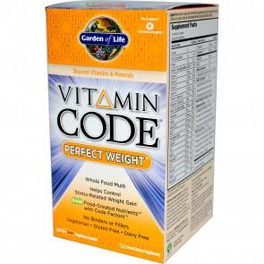 Garden of Life Vitamin Code Perfect Weight 240 Vegetarian Capsules