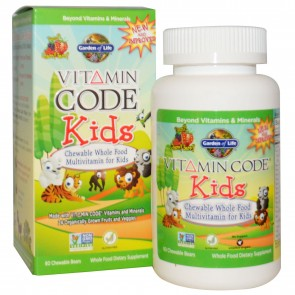 Vitamin Code Kids Multivitamin Cherry Berry 60 Chew
