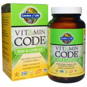 Garden of Life Vitamin Code RAW B-Comp 120 Capsules