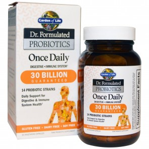 Garden of Life Dr. Formulated Probiotics Once Daily 30 billion 30 Vegetarian Capsules