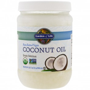 Garden of Life Raw Extra Virgin Coconut Oil 29 fl oz