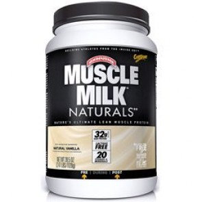 Cytosport Muscle Milk Naturals Protein Shake Mix VanillaCream - Best