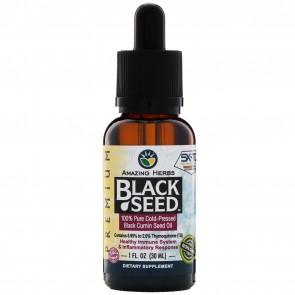 Amazing Herbs Premium Black Seed Oil 1 fl oz