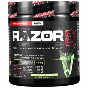 All Max Nutrition Razor 8 Blast Powder 8 Key Lime Cherry 30 Servings (285g)