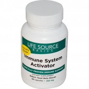 Life Source Basics Immune System Activator 250 mg 60 Capsules