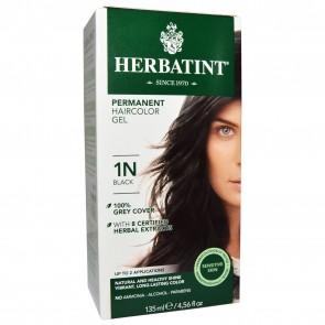 Herbatint Herbal Haircolor Gel Permanent 1N Black