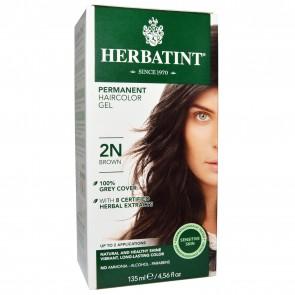 Herbatint Herbal Haircolor Gel Permanent 2N Brown