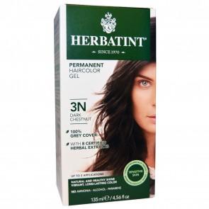 Herbatint Herbal Haircolor Gel Permanent 3N Dark Chestnut