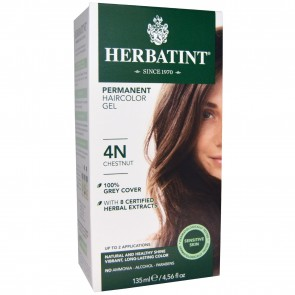 Herbatint Herbal Haircolor Gel Permanent 4N Chestnut