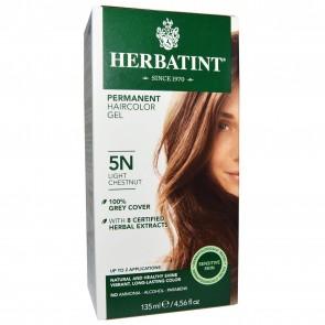 Herbatint Herbal Haircolor Gel 5N Permanent Light Chestnut