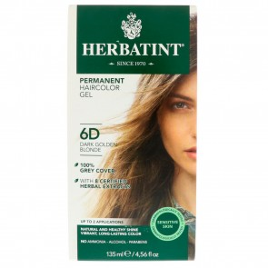 Herbatint Herbal Haircolor Gel Permanent 6D Gel Dark Golden Blonde