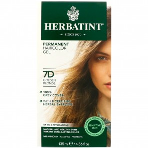 Herbatint Herbal Haircolor Gel Permanent 7D Golden Blonde