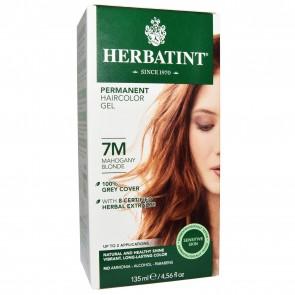 Herbal Haircolor Permanent Gel 7M Mahogany Blonde - 4.5 oz.