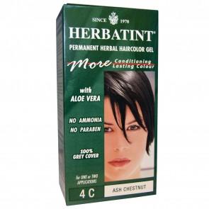 Herbatint Herbal Haircolor Gel Permanent 4C Ash Chestnut