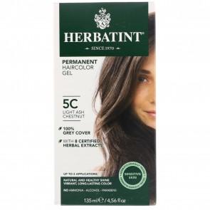 Herbatint Herbal Haircolor Gel Permanent 5C Light Ash Chestnut