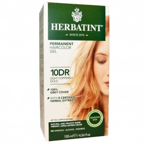 Herbatint Herbal Haircolor Gel Permanent 10DR Light Copperish Gold