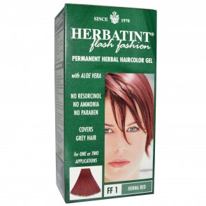 Herbatint Herbal Haircolor Gel Permanent FF1 Henna Red