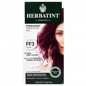 Herbatint Herbal Haircolor Gel Permanent FF3 Plum