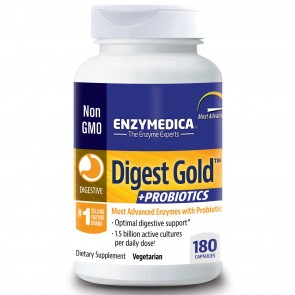 Enzymedica Digest Gold Plus Probiotics 180 Capsules