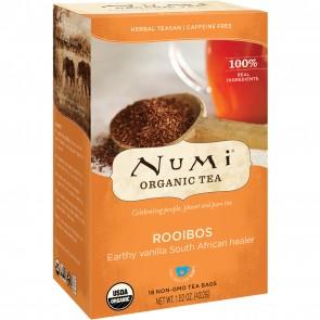 Numi Organic Herbal Tea Rooibos 18 Tea Bags