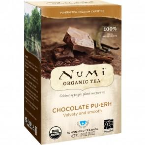 Numi Organic Tea Chocolate Pu-Erh Tea 16 bags