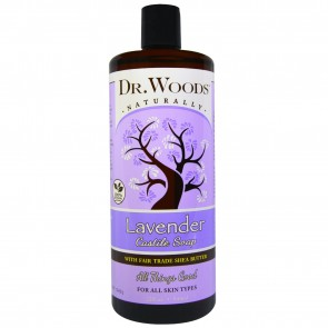 Dr. Woods Pure Lavender Soap 32 oz